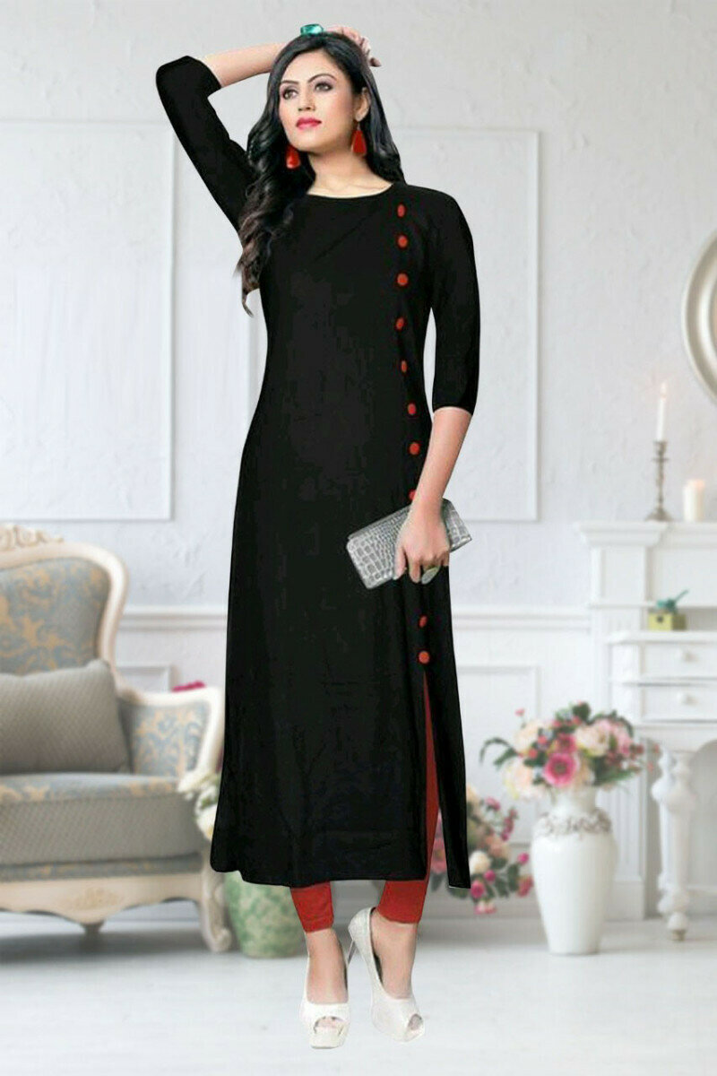 Party Wear Rayon Kurti For 2021