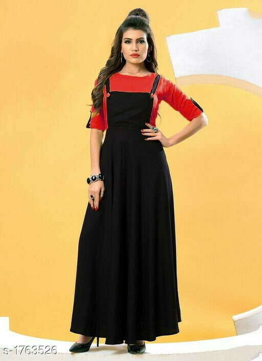Party Wear Red Solid Work Baba Suit
