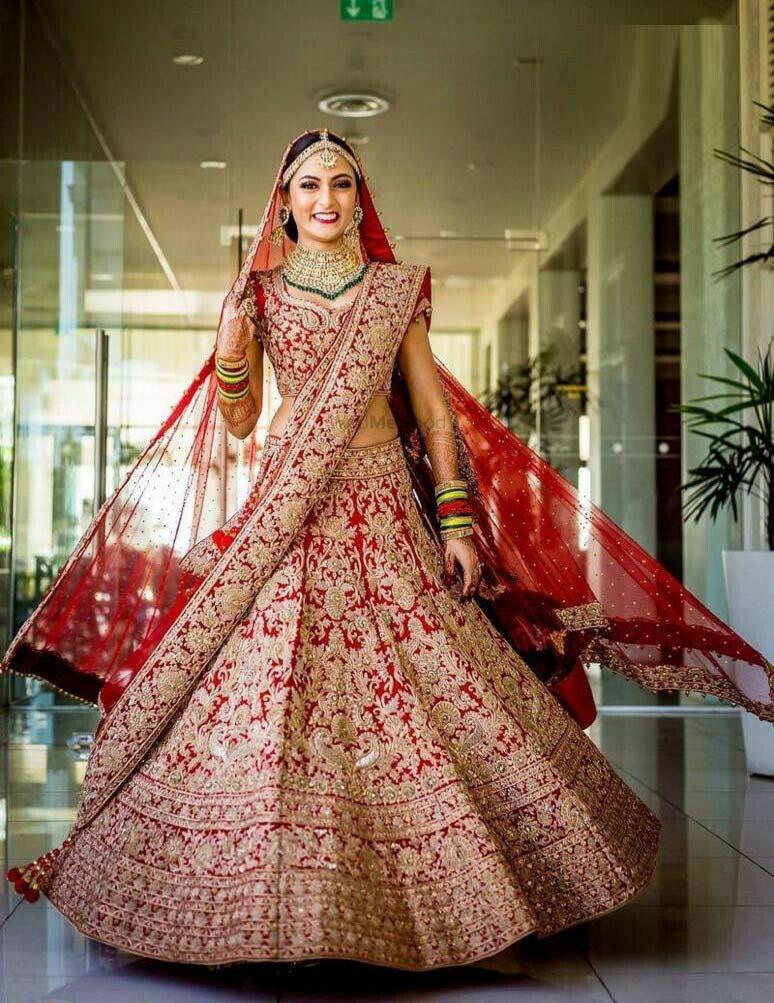 Red Color Wedding Wear Lehenga Choli