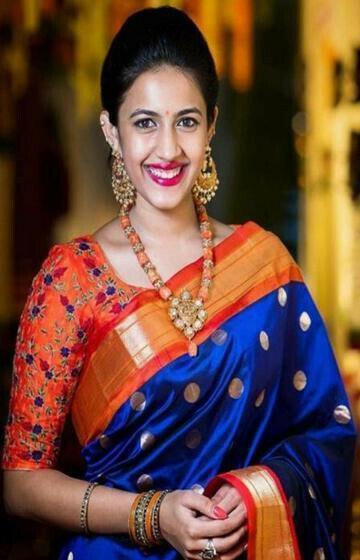 Royal Blue Color Soft Silk Designer Sarees