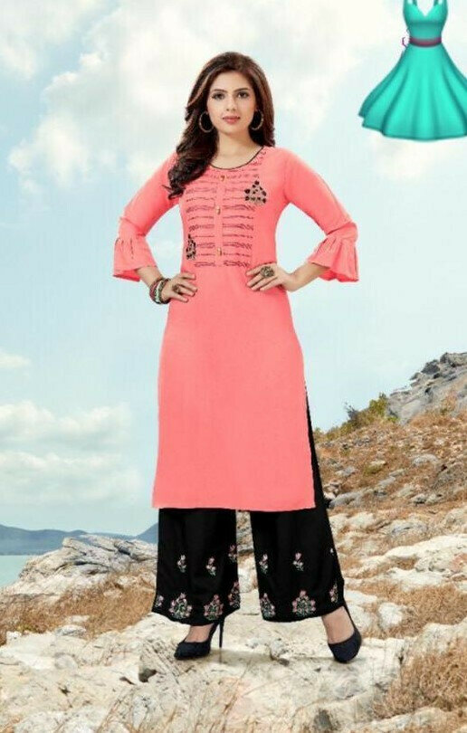 Simple Suit Light  Pink Color For Latest Girl