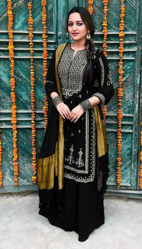 Sonakshi Sharara Suit