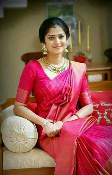 Surpassing Pink Color Designer zarna silk saree