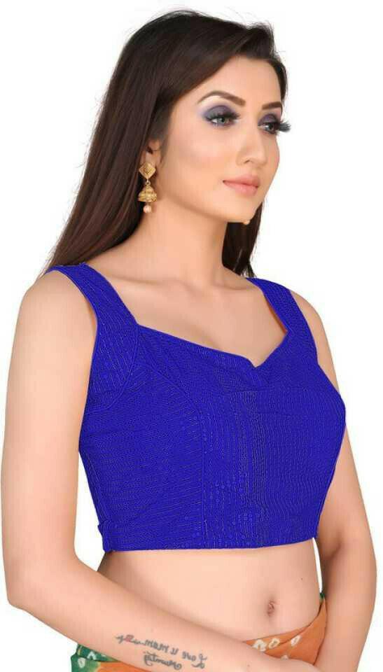 Wedding Wear Blue Color Heavy Blouse