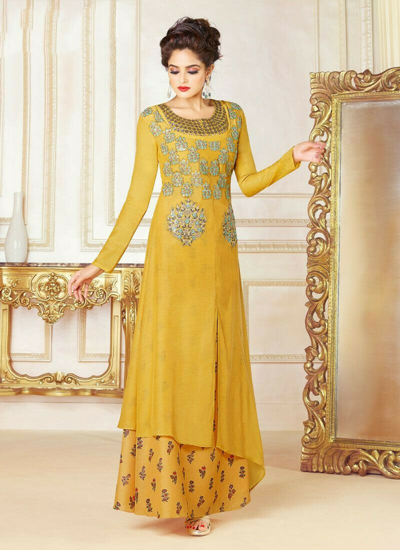 Yellow Color Latest Swagat Present Designer Salwar Suit