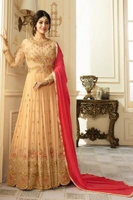 Ayesha Takia Designer Faux Georgette Latest Anarkali Salwar Suit