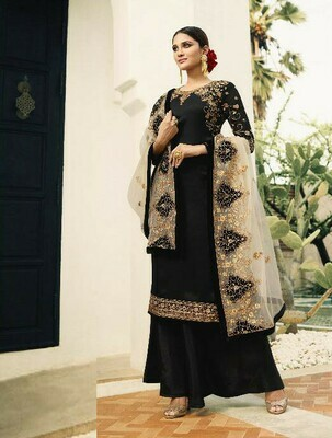 Present Black Colour Salwar Suit