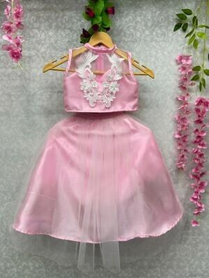 Beautiful Embroidery Soft Net Grils Lehenga Choli