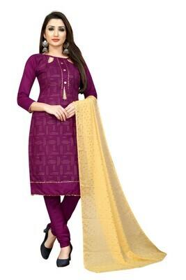 Heavy Purple Color Salwar Suit In Online