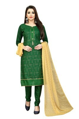 Green Color Party Wear Salwar Suit