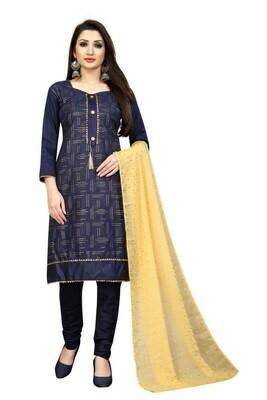 Designer Navy Blue Color Salwar Suit