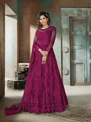 Stylish Stunning Lovely Pink Color Suit