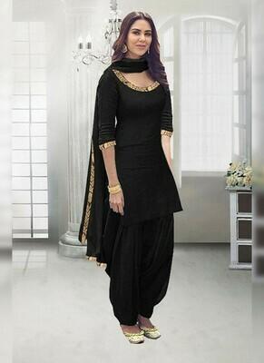 Black Color Salwar Kameez