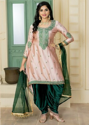 Most Famous Outstanding Lemonade  Color Party Wear Embroidery Work  Salwar  Suit for women