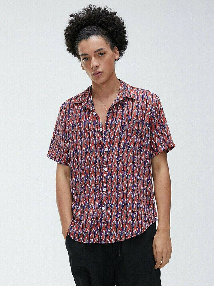 Boys Short Sleeve Fashion Summer Shirt