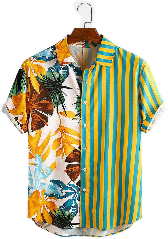 Mens shirts - Multi Color Fancy Printed Shirt