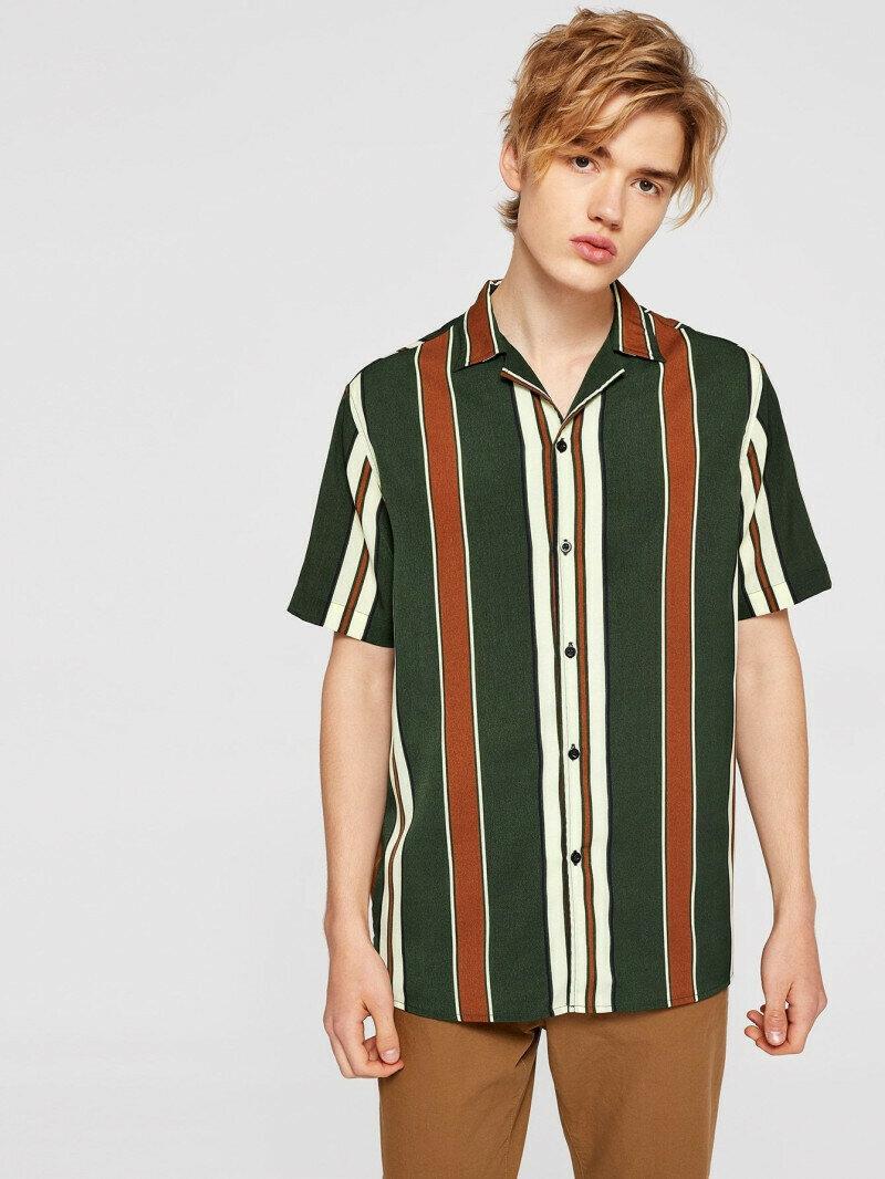 Boys Multicolored Color Block Striped Shirt