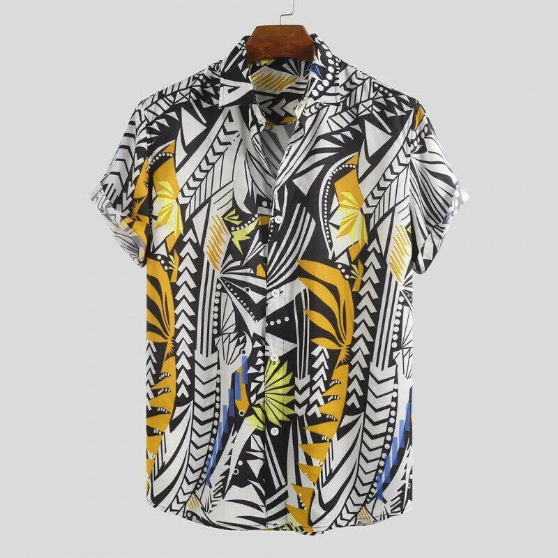 Boys  Pattern Printed Half Sleeve Relaxed Shirt