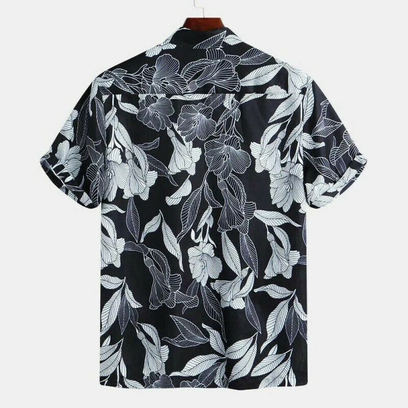 Boys  Floral Printed Half Sleeve Casual Shirt
