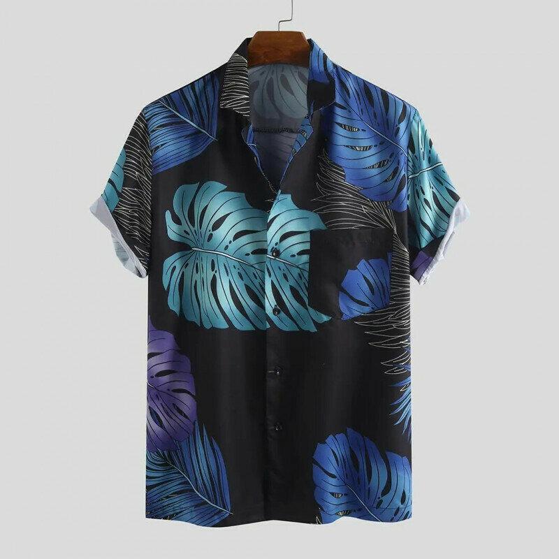 Boys  Printed Half Sleeve Holiday Wear Shirt
