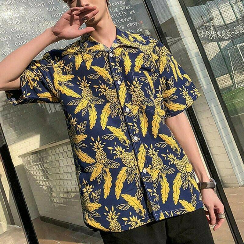 Boys Attractive Printed Hawaiian Shirt