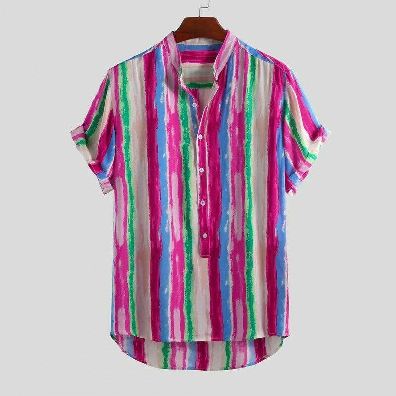Boys Colorful Medium Striped Shirt