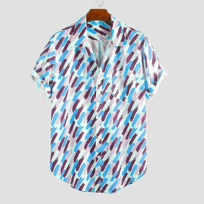 Boys Holiday Wear Printed Half Sleeve Casual Shirt