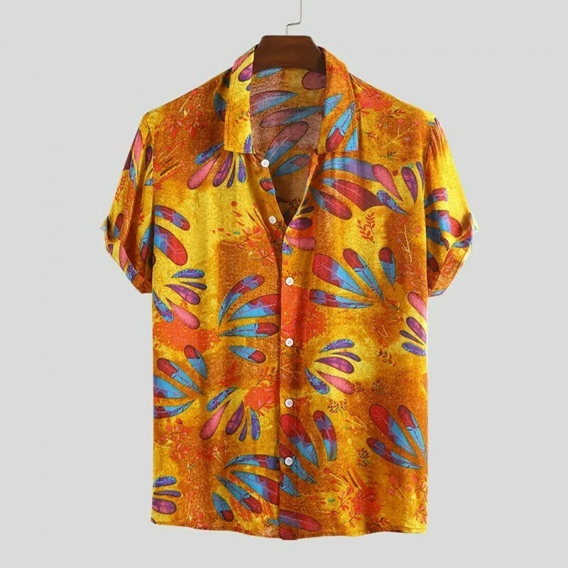 Boys Ethnic Printed Attractive Beach Wear Casual Shirt
