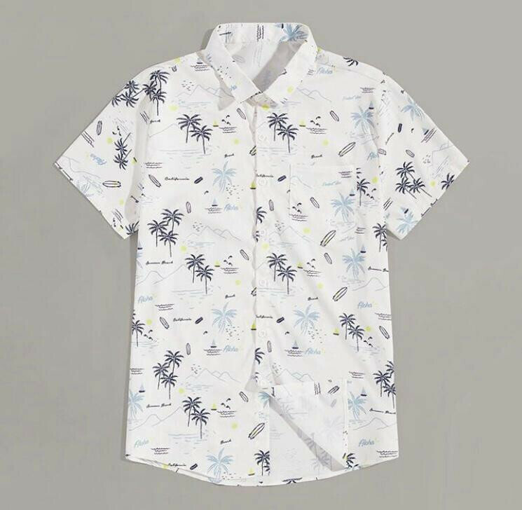 Shirt For Boys Printed Un-Stitched Full Sleeve Relaxed Shirt