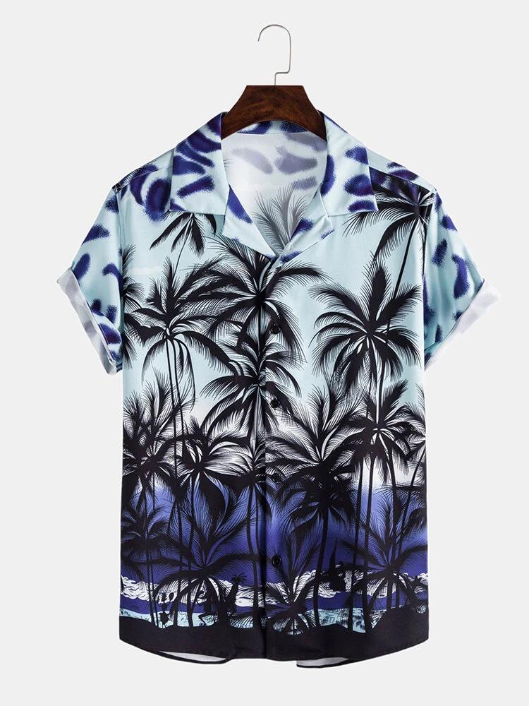 New Trendy Fashionable Beach Wear Printed Shirt