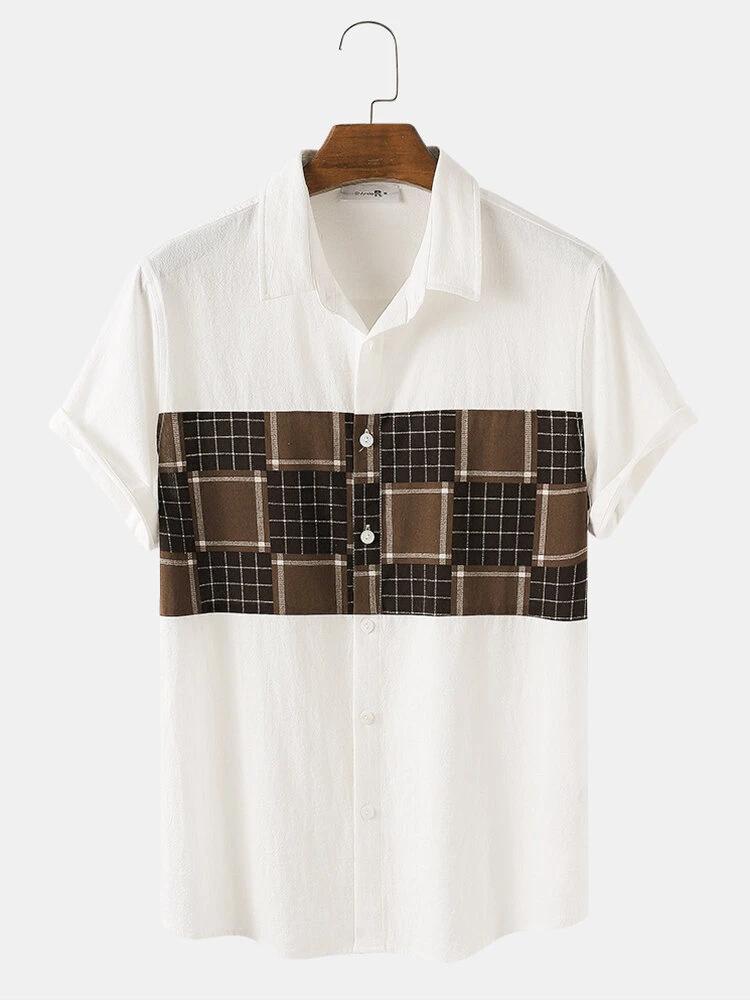Mens Wear Plain Relaxed Shirt