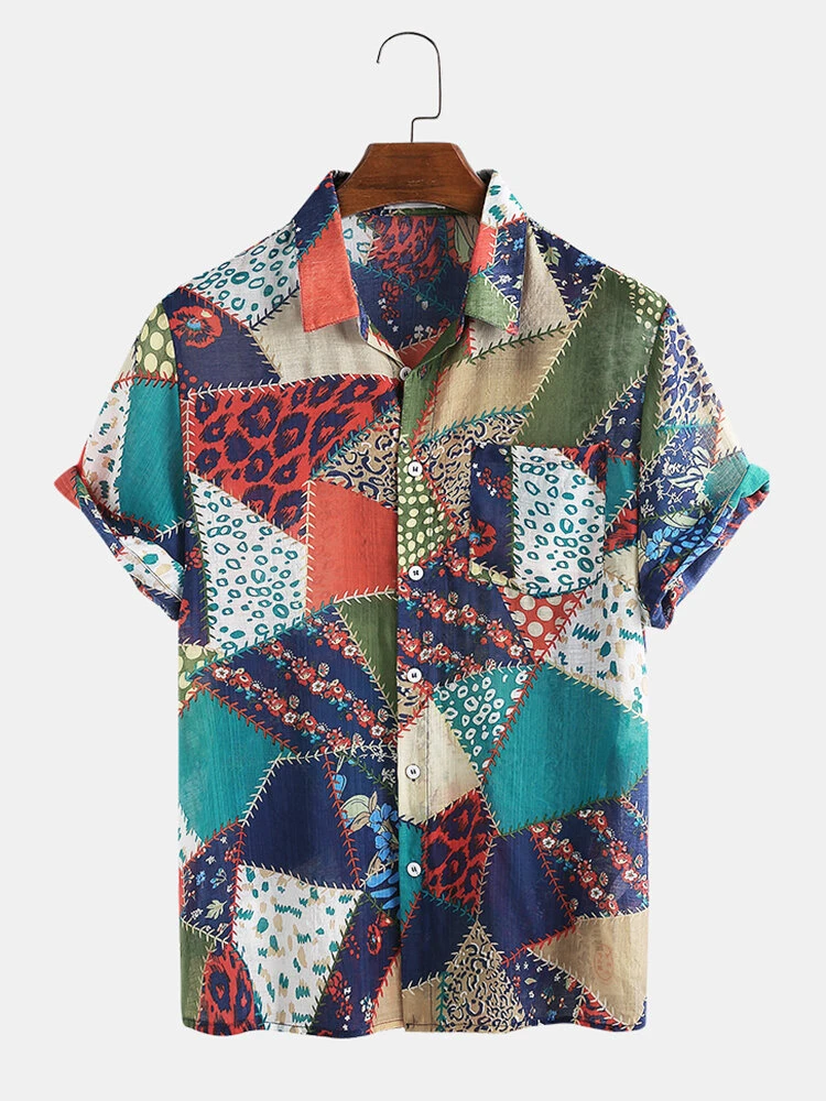 Buy Online Colorfull Attractive  Beach Wear Shirt