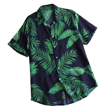 Online Digitally Leaf Printed Attractive Shirt