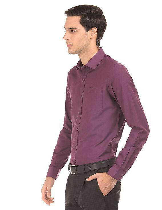 Slim Fit Attractive Formal Wear Full Sleeves Shirt