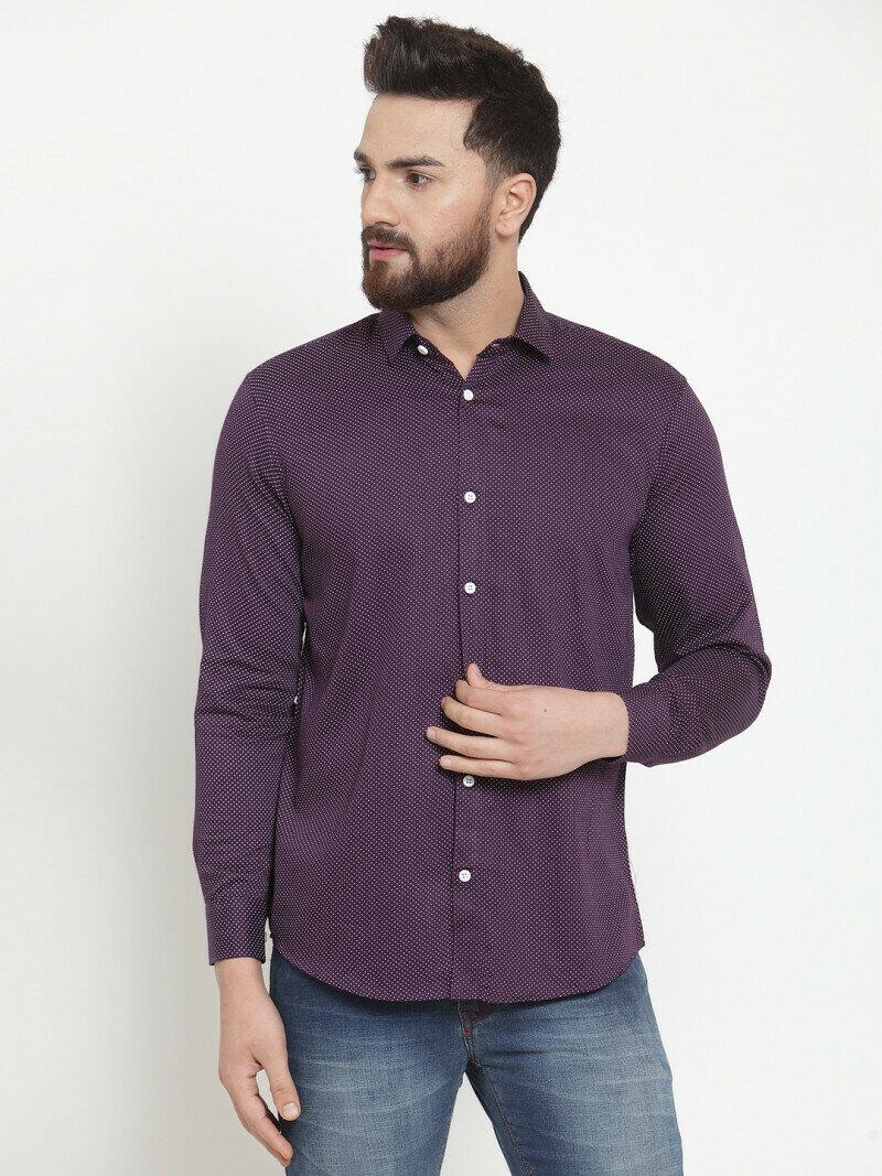 Plain Purple Color Best Selling Shirt