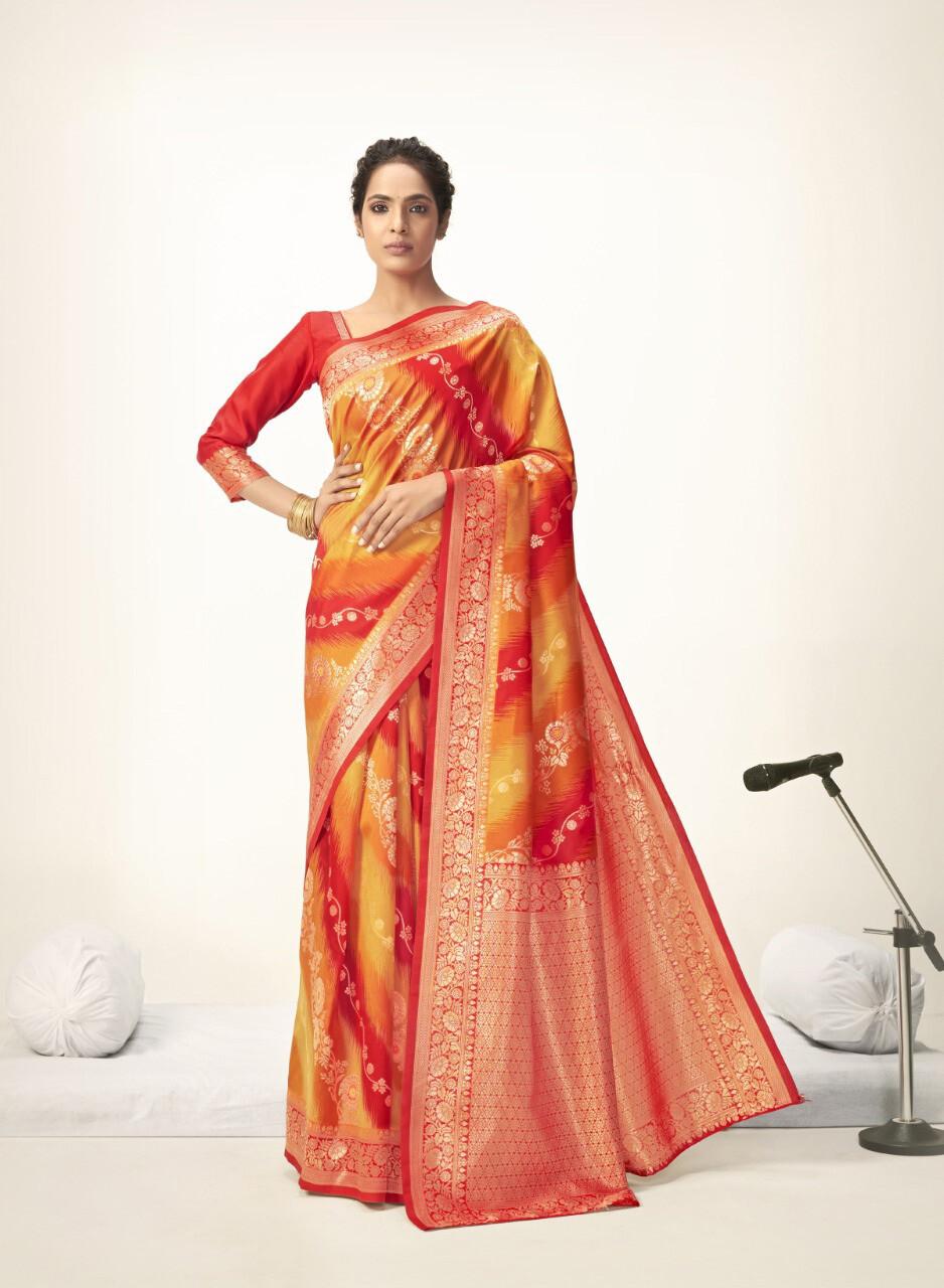 Elegant Women's Wear Soft Art Silk Saree