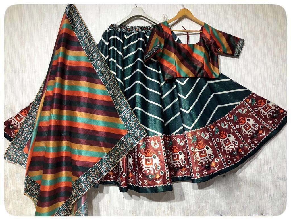 Elegant Heavy Silk Designer Lehenga Choli