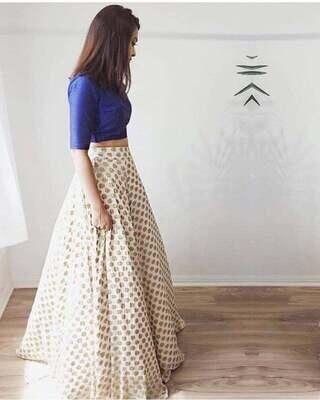 Indian Pakistani lehenga choli party wear lehenga for women indian sari Indian wedding lehenga crop top indian dress