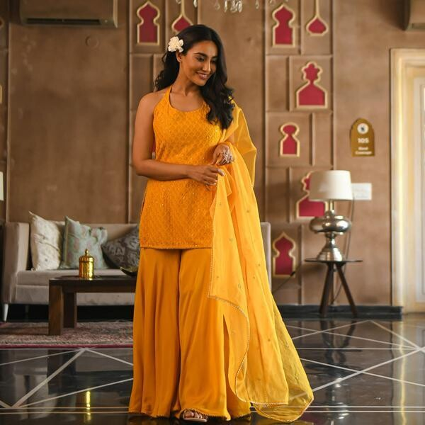 Women's Manasvi Sharara Set