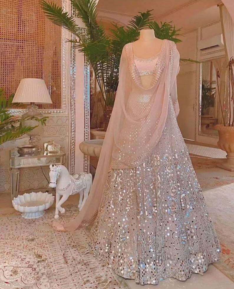 Bridal Exclusive indian lehenga choli wedding dress for women's heavy lehenga designer lehenga choli partywear dress bridesmaids dress