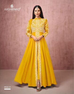 Diwali Special Salwar Suit With Heavy Embroidery In Yellow