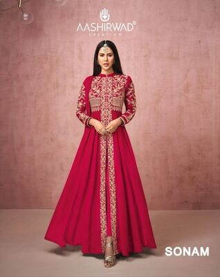 Diwali Special Salwar Suit With Heavy Embroidery In Pink