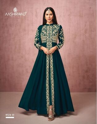 Diwali Special Salwar Suit With Heavy Embroidery In Green