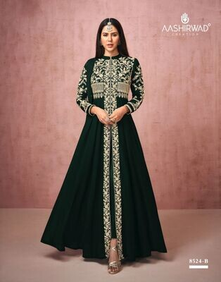 Diwali Special Salwar Suit With Heavy Embroidery In Black