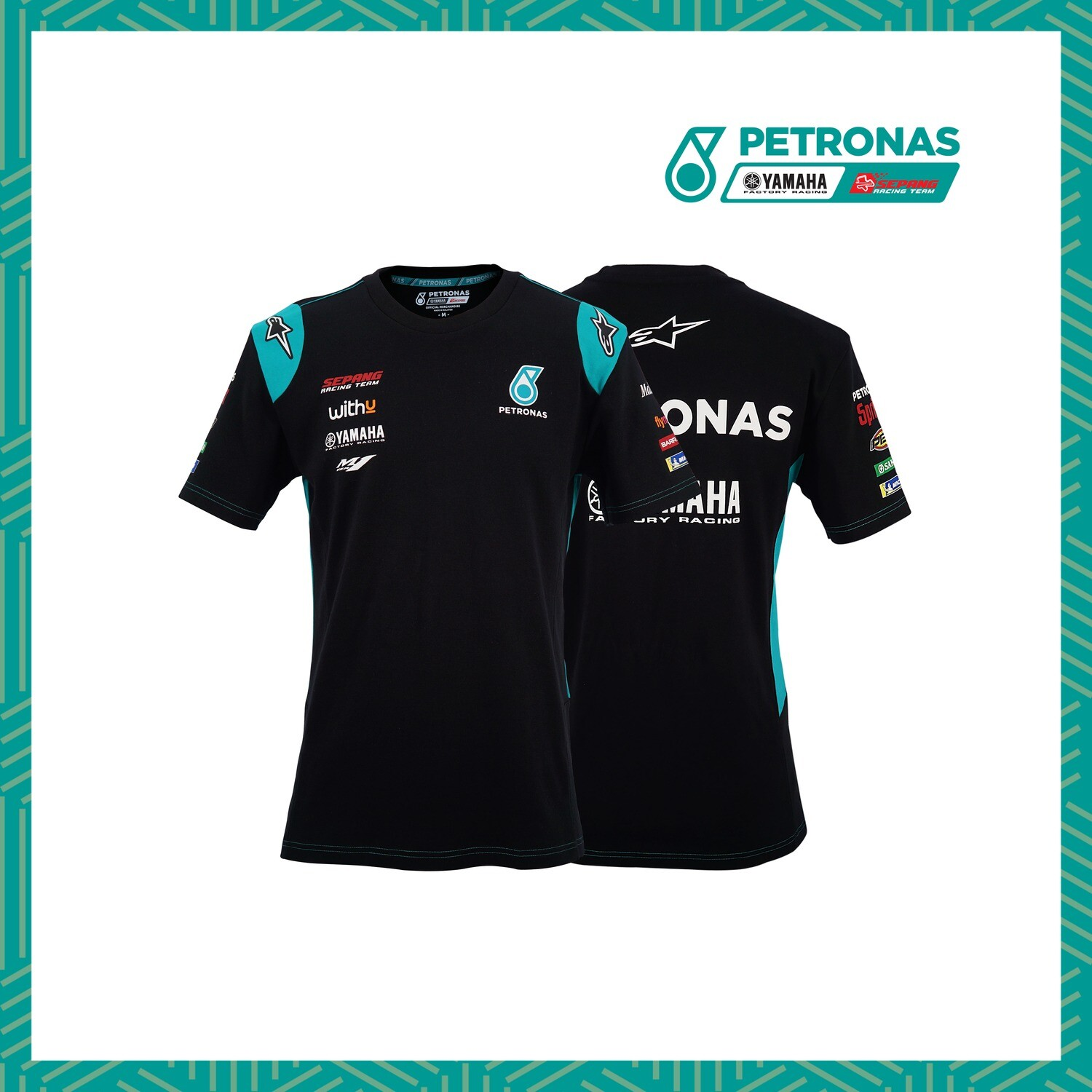 PETRONAS YAMAHA SEPANG RACING TEAM-ROUND NECK T