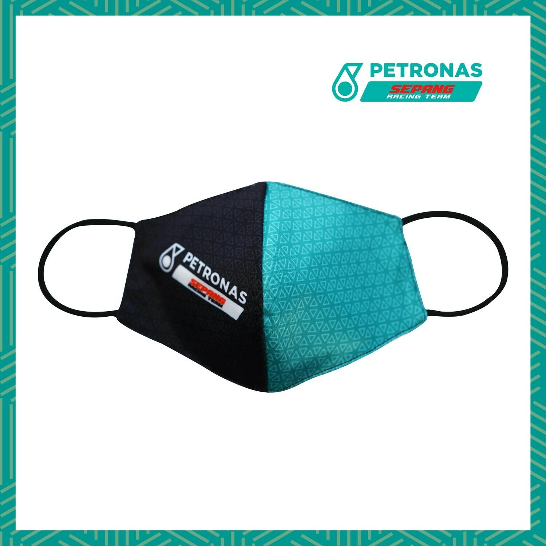 PETRONAS SEPANG RACING TEAM FACEMASK - BLACK GREEN