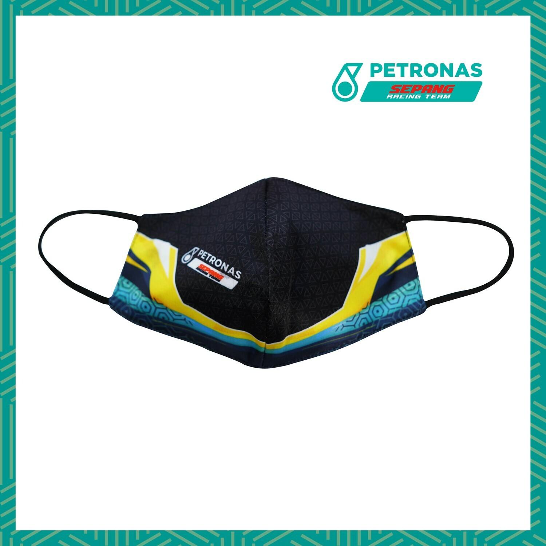 PETRONAS SEPANG RACING TEAM FACEMASK-RACING YELLOW