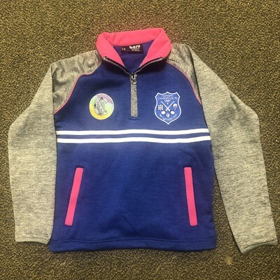 NEW Cratloe Camogie Half zip