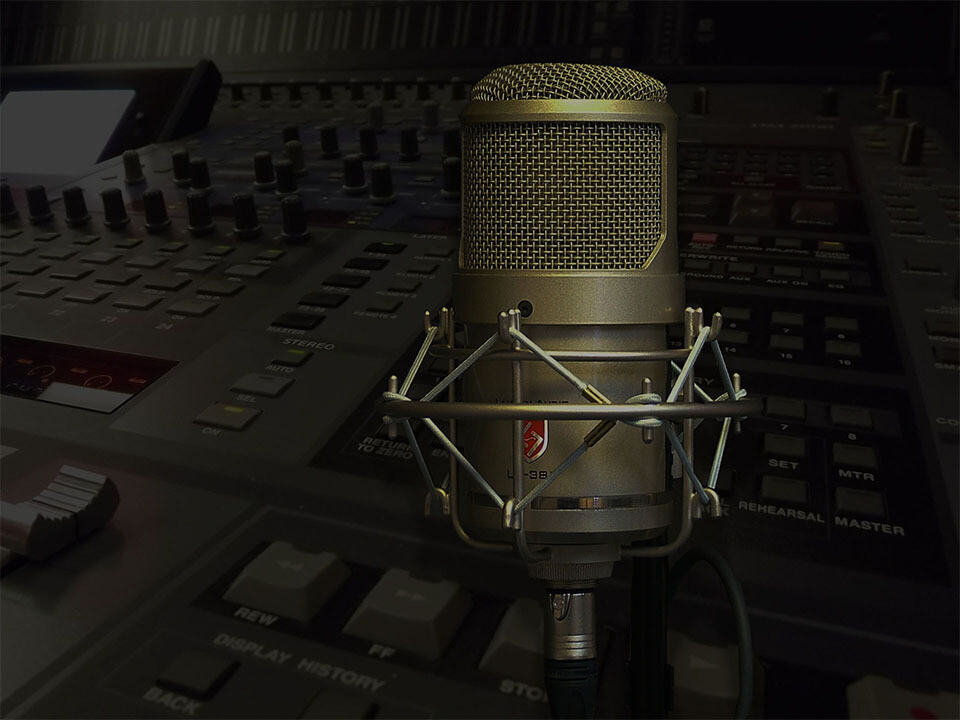 Audio recording and mixing inc. engineer / producer per day