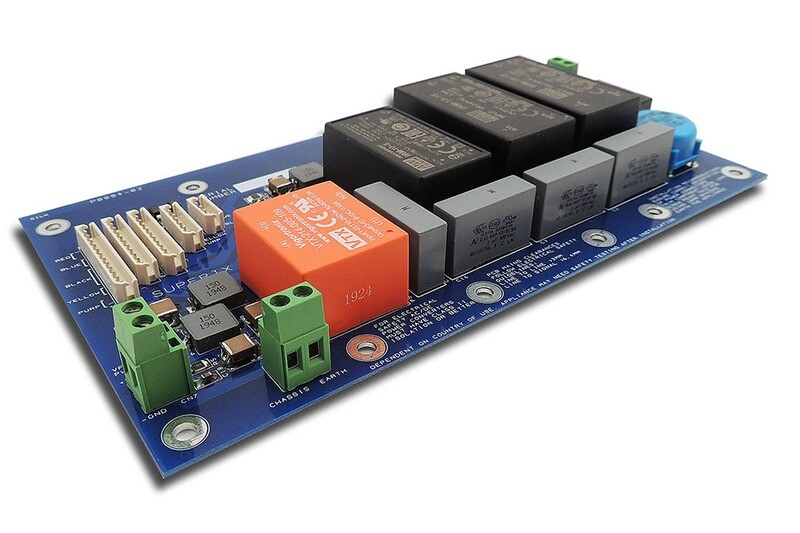 Supply of populated P0004 power supply for Roland Super-JX